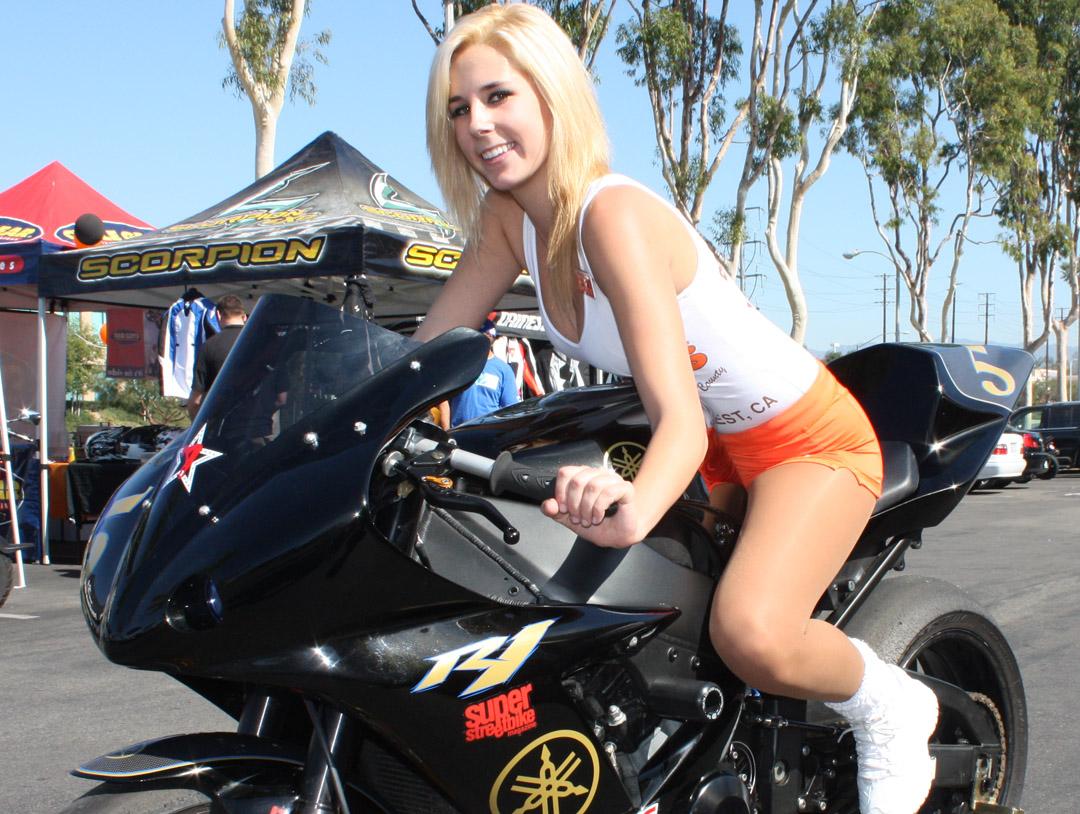 Bikes girls naked hooters